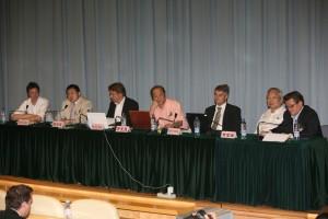 Henrik Valeur, Pan Haixiao, Peder Baltzar Nielsen, Li Wuwei, Søren Hvilshøj, Huang Fuxiang and Kent Martinussen in Shanghai, 2007